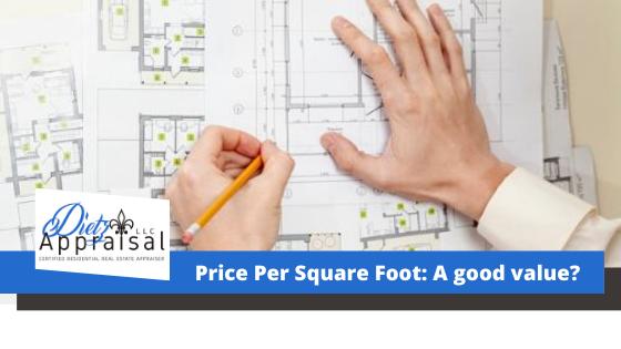 Price Per Square Foot: A good value?