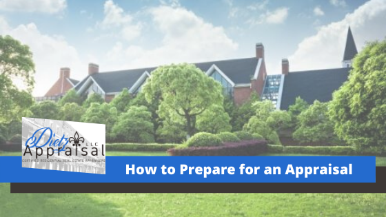 How to prepare for an appraisal?